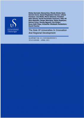 Cover for The Role Of Universities In Innovation And Regional Development