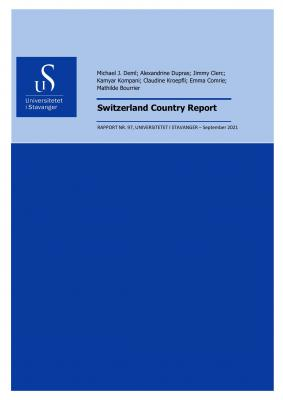 Cover for Switzerland: Country Report