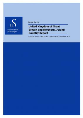 Cover for United Kingdom of Great Britain and Northern Ireland: Country Report